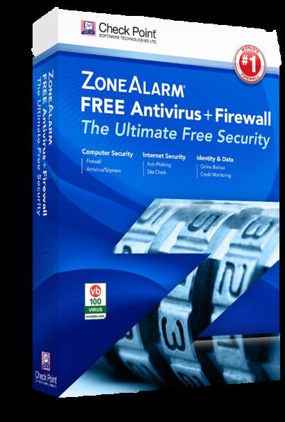 gratis virusscanner plus firewall van zonealarm