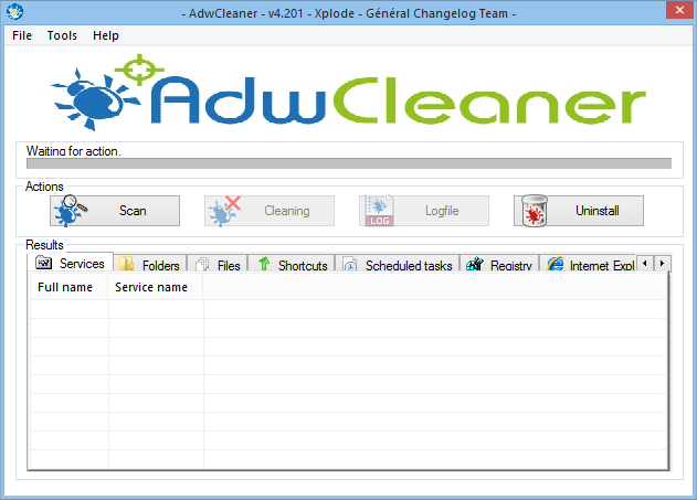 Interface Adware Cleaner