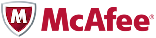 logo van mcafee antivirus software