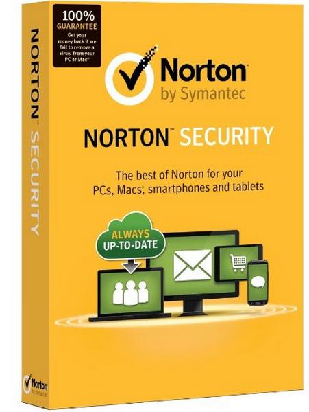 computer beveiligings pakket van norton
