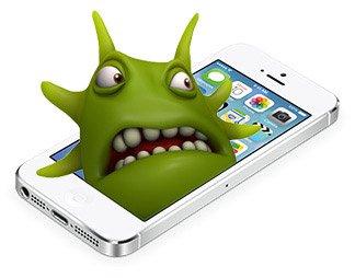 iphone met virus