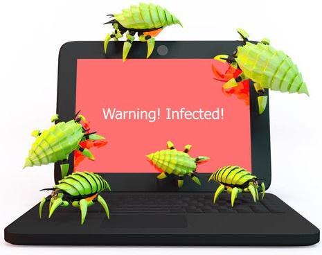Geinfecteerde computer